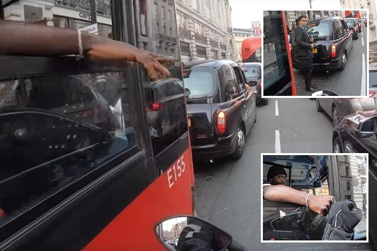 Cool As F**k Bus-Driver Prevents Accident In London