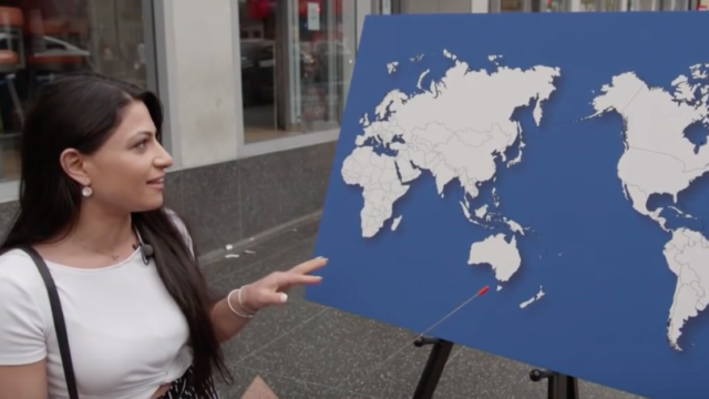 """Jimmy Kimmel asks Americans to name """"any"""" country on a map"""