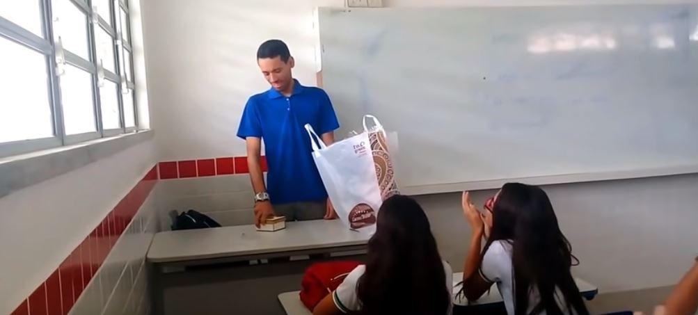 """""""Of course it's a surprise. It sure as sh*t ain't homework!"""" Credit: Carlos Santos"""