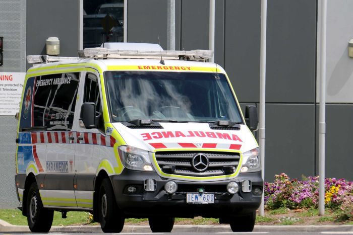 An ambulance (believe it or not). Credit: ABC News - Seraphine Charpentier Andre