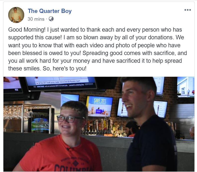 Legend. Credit: The Quarter Boy/Facebook