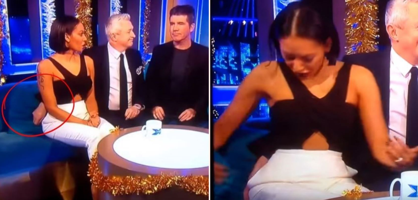 Mel B blows up after having her bum groped on The X Factor