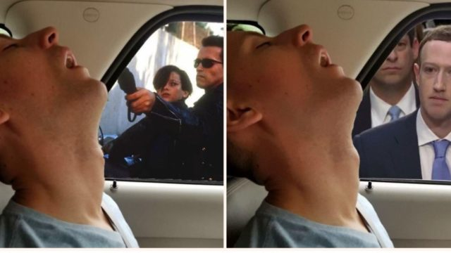 Bloke falls asleep on road trip, missus gets Internet to Photoshop what he missed