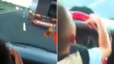 7 year old goes flying down the highway and burns off a massive truck