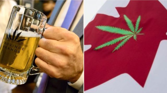 Canadian startup company creates the world's first cannabis beer