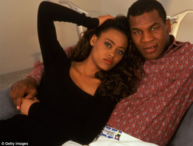 Tyson and his wife. Credit: Getty