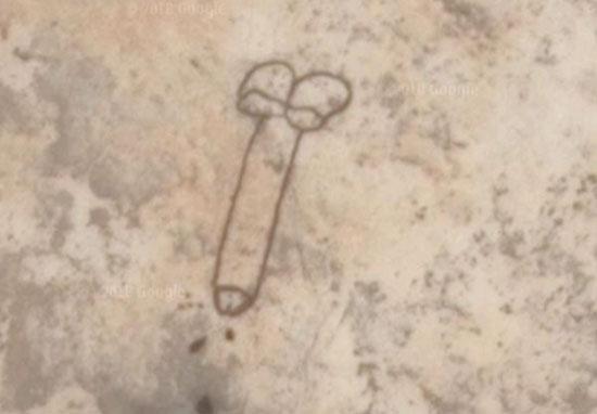 Anyone else think it looks kinda Squidward-like? Credit: Google Maps