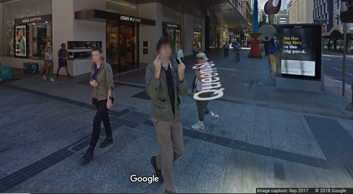 Bloke 100% committed to giving Google Maps the ultimate f**k you