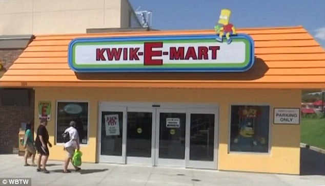 There is a real life Kwik-E-Mart store from The Simpsons now open