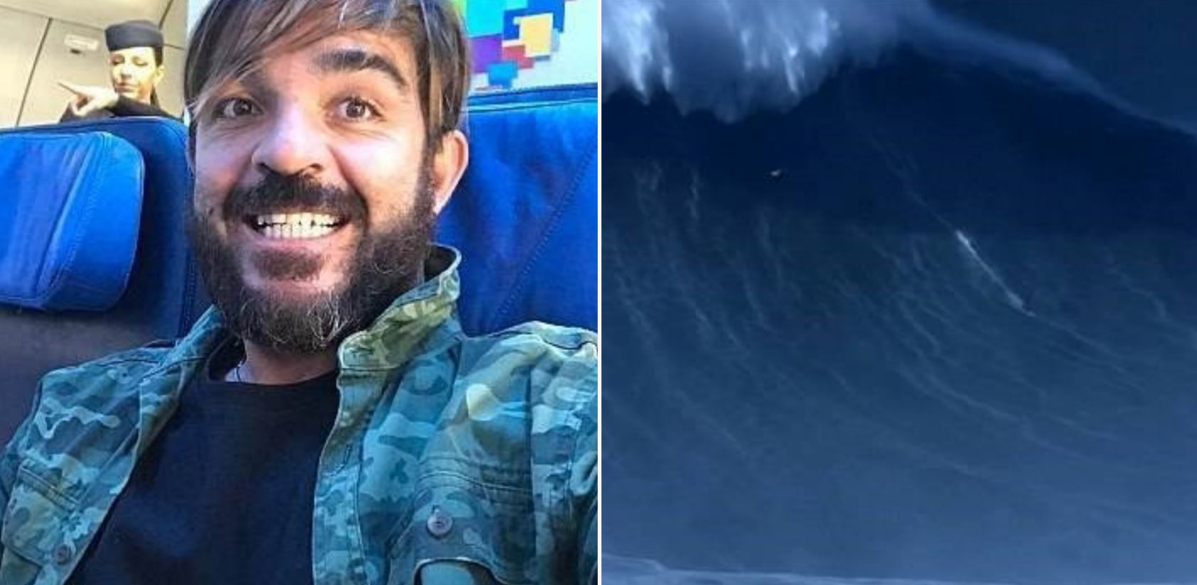 Brazilian surfer breaks world record with f*cken monster wave
