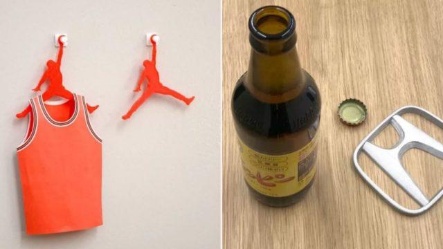 Japanese bloke transforms brand logos into useful items