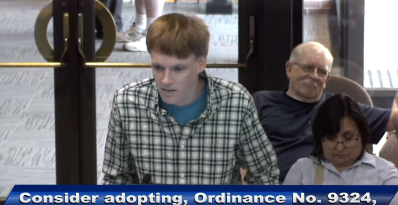 Bloke walks into Town Council meeting and argues for legalisation of handjobs