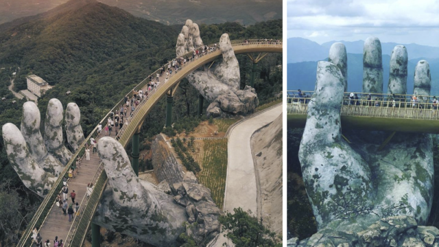 Vietnam's new f*cken stunning bridge looks like something from Lord of the Rings