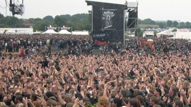Two old blokes escape the nursing home for German metal festival