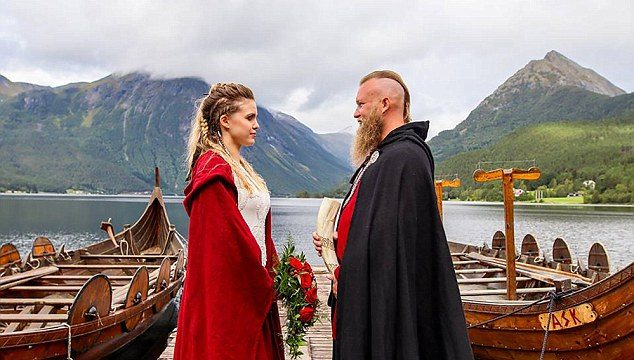 Couple get hitched in first Viking wedding in almost 1000 years
