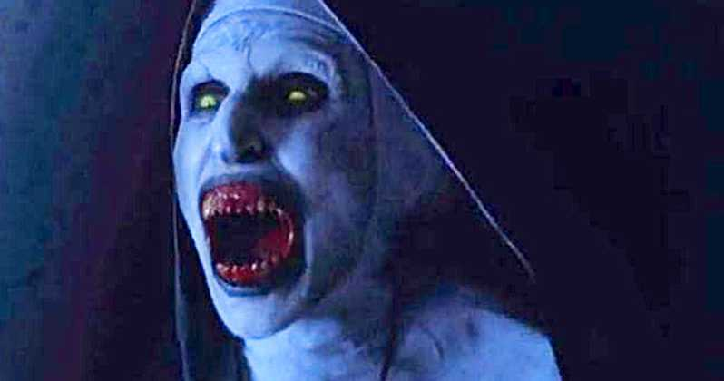 The Nun is a Conjuring 2 spin-off. Credit: New Line Cinema