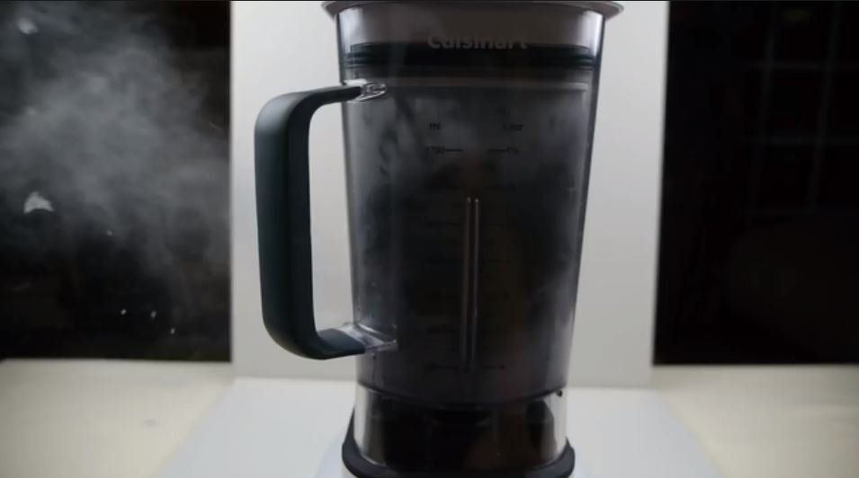 And a blender going to the same place. Credit: Newsflare/TechRax