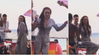 The Internet has roasted Lindsay Lohan's dance moves and spawned a new viral challenge