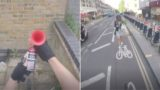 Fed up cyclist attaches air-horn to bike to get pedestrians to move out of the way