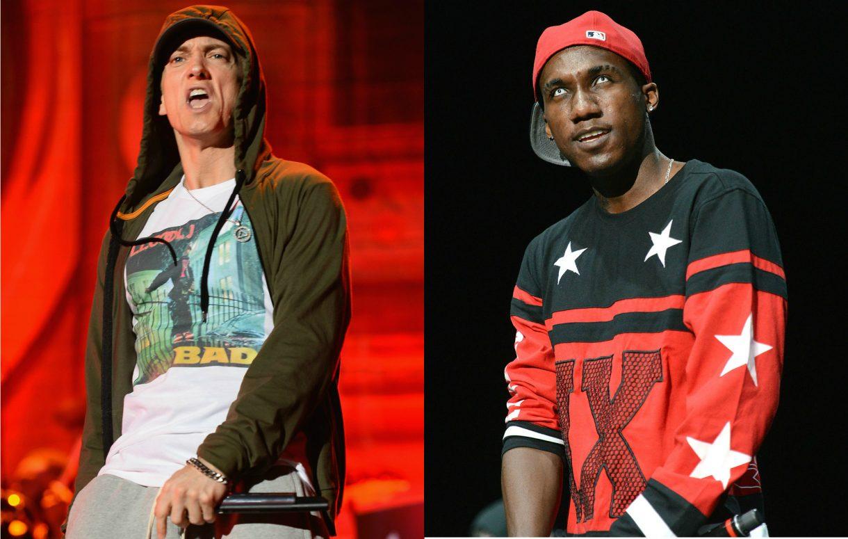 Rapper Hopsin loses his sh*t when Eminem name-checks him on new album