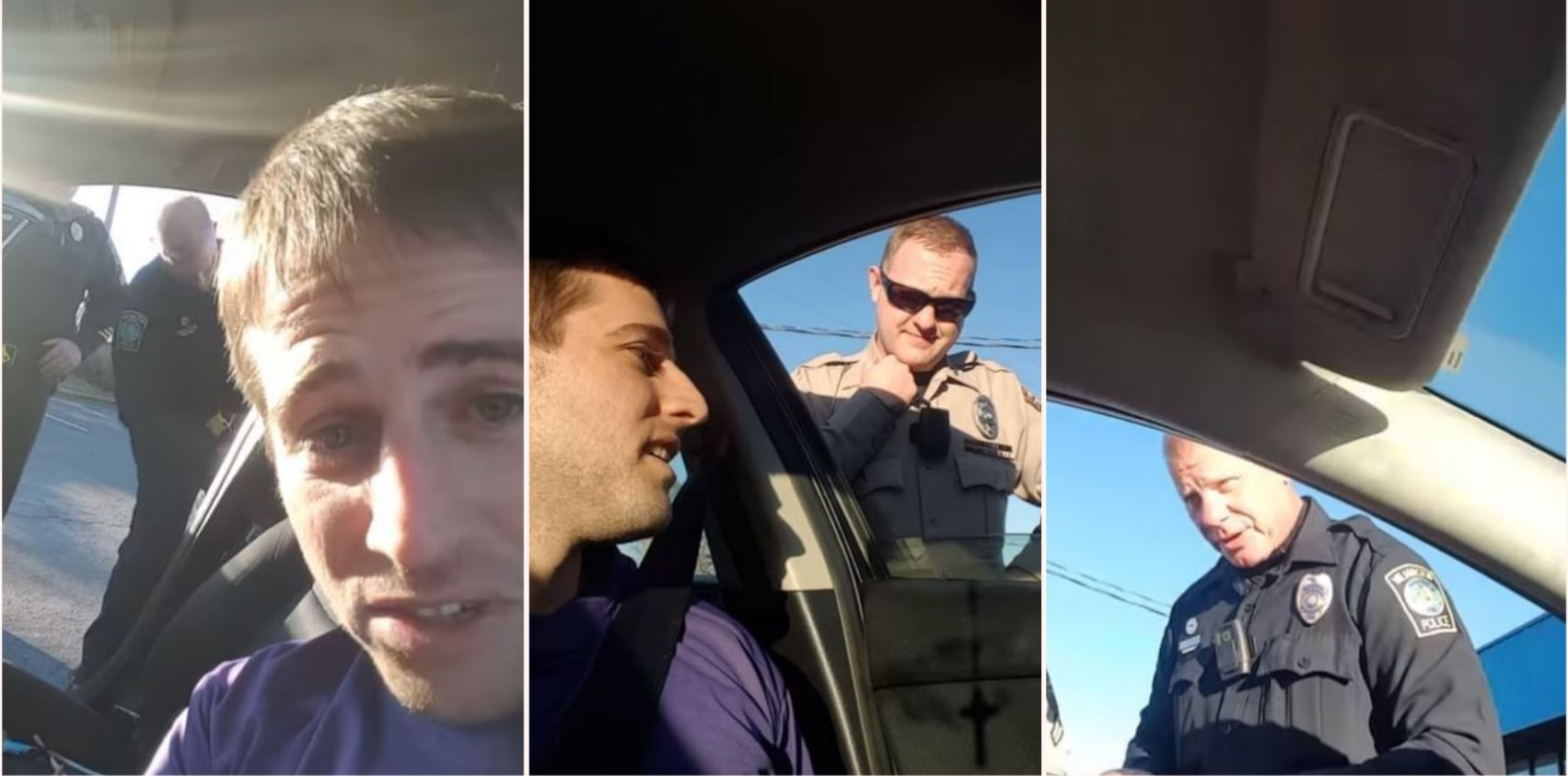 Policeman tries to lie his way through search – suspect lawyers the sh*t out of him