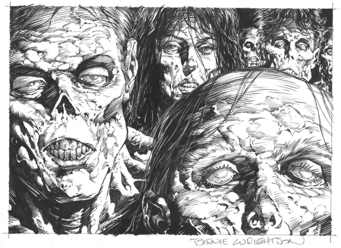 Ya can't talk f**ken zombies without mentioning Bernie Wrightson's work! Credit: Bernie Wrightson