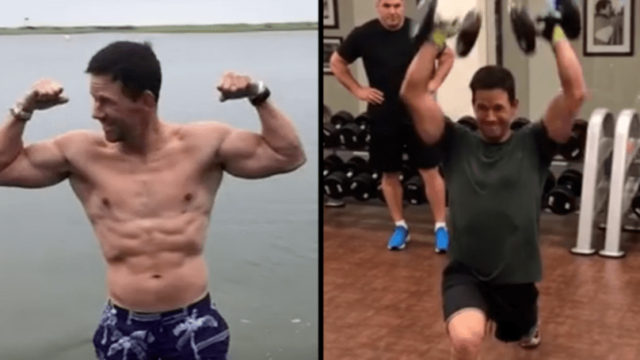 Mark Wahlberg's daily routine is f*cken outrageous