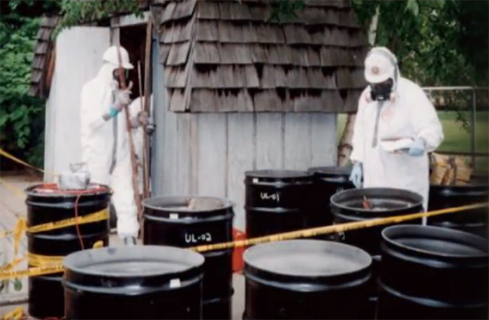 Nuclear waste. Credit: Weird History