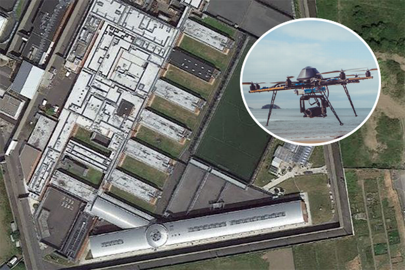 Prisoners use drone to get Chinese takeaway delivered
