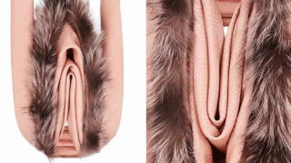 Pricey as f**k new Fendi scarf looks like a fur burger!