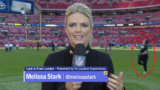 Reporter gets hit in head on live TV, takes it like a f*cken champ