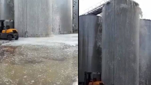 Wine fermentation tank explodes, spilling 30,000 litres of piss