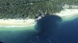 A huge sinkhole just swallowed up a beach in Australia
