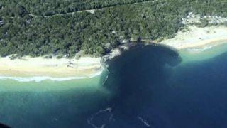 A huge sinkhole just swallowed up a beach in Australia