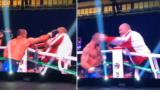 Angry Boxer Loses Control And Attacks His Own Trainer After Losing