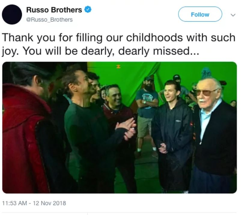 Credit: Twitter/Russo Brothers