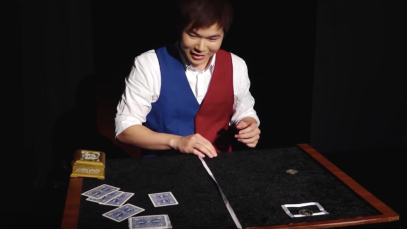 Eric Chien's champion magic trick is f*cken outrageously good