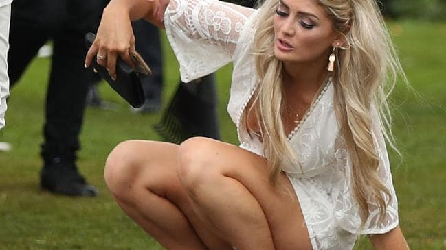 Melbourne Cup attendees get sh*tfaced and head straight to Destination F#*ked