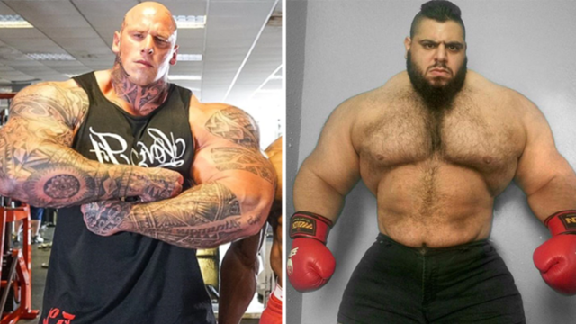 'Scariest Man On The Planet' Martyn Ford to fight 'Iranian Hulk' in MMA debut