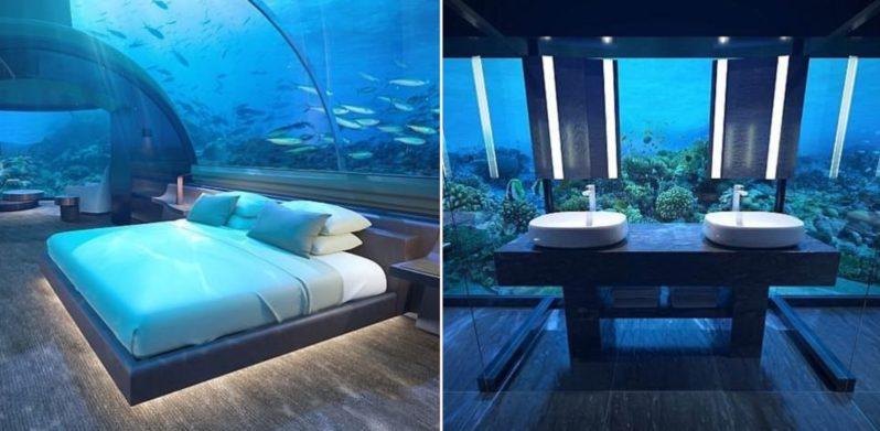 First ever undersea villa opens in luxury Maldives hotel