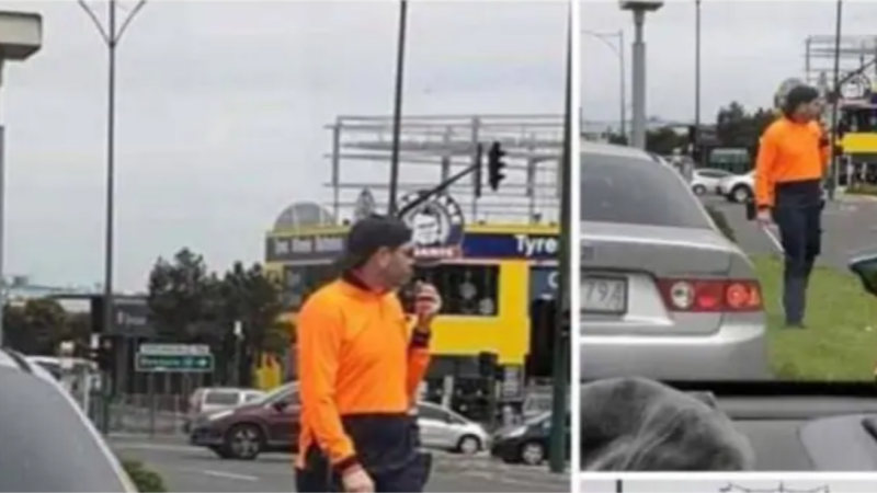 Police pose as window-washers to bust drivers on their phones
