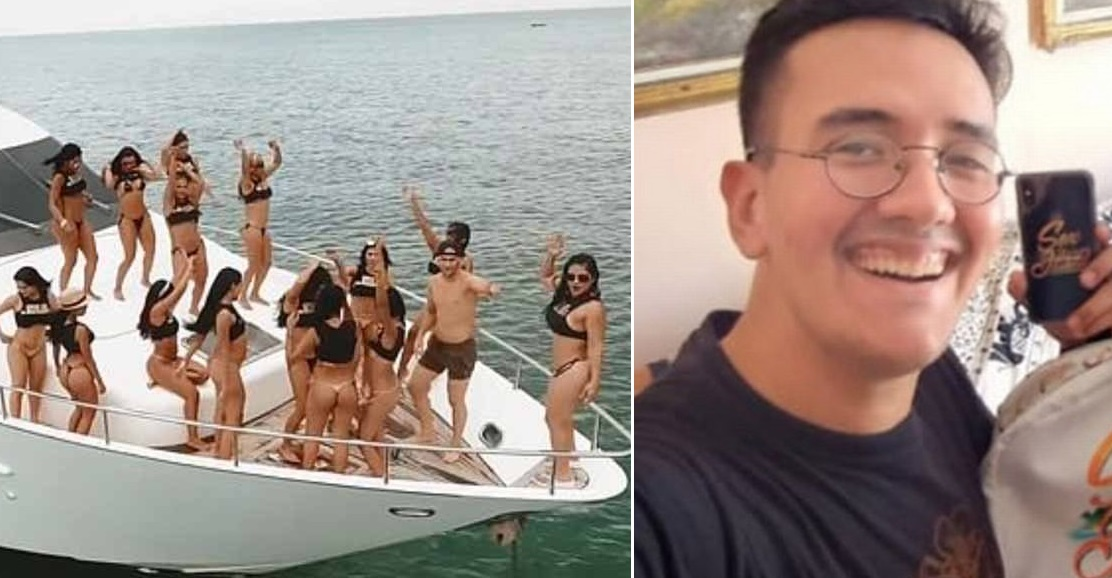 "16-year-old virgin wins ""golden ticket"" to Sex Island party and his mum isn't happy"