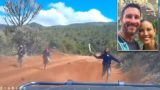 American couple narrowly escapes machete-wielding bandits in Kenya