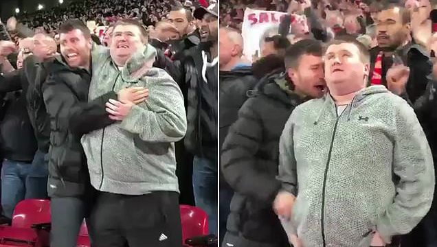 Incredible moment soccer fan describes goal to blind cousin