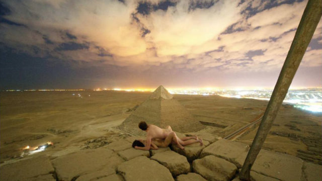 Egypt investigating viral picture of bloke have sex with his missus on top of pyramid