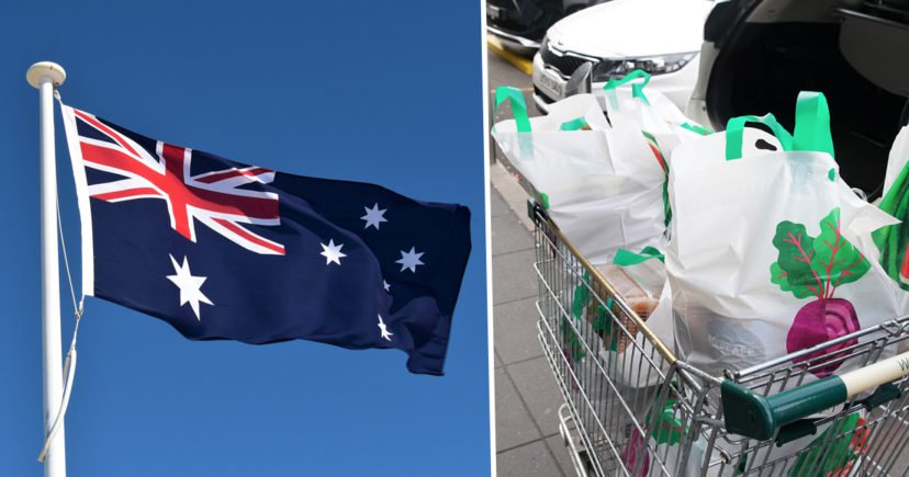 Australia has cut its plastic bag use by 80% in just three f*cken months