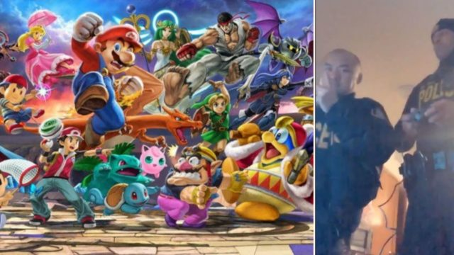 Cops respond to noise complaint, end up playing Super Smash Bros Ultimate with offenders