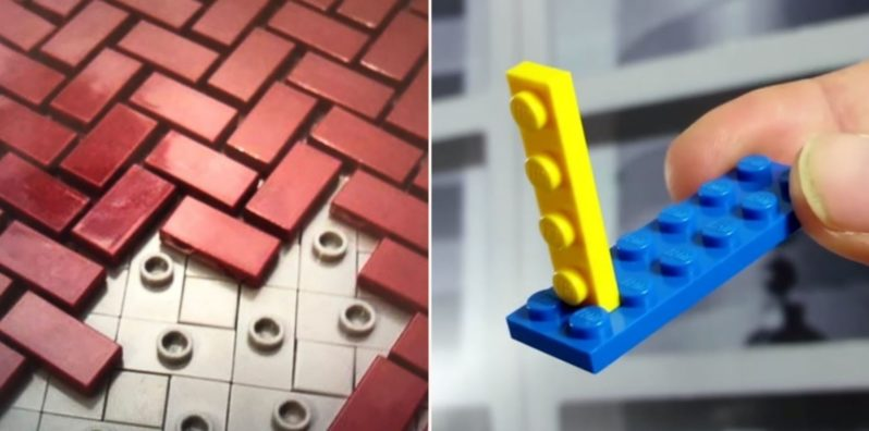 "People are posting their ""illegal"" lego building tactics"