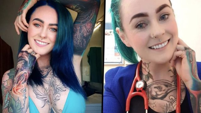 'World's most tattooed doctor' reveals the discrimination she faces
