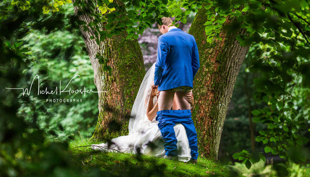 Couple deliver the all time greatest wedding photoshoot